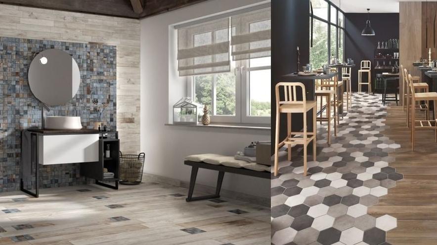 Modelo de acabamento para paredes e pisos que você pode combinar